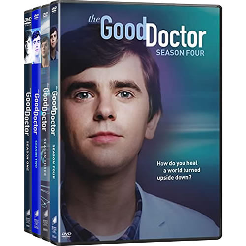 The Good Doctor Season 1-4 DVD Pack for Sale