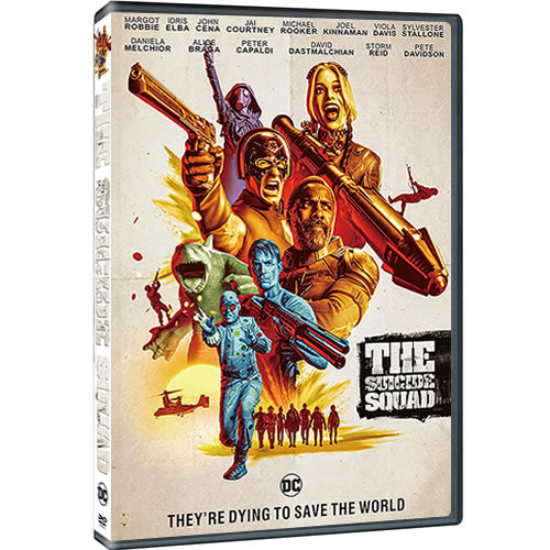 The Suicide Squad 2021 DVD for Sale
