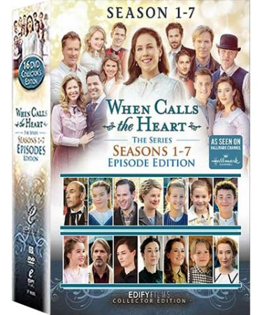 When Calls The Heart Season 1-7 DVD Pack for Sale